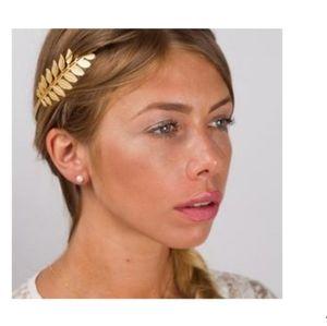 👸Gold Greek goddess head band